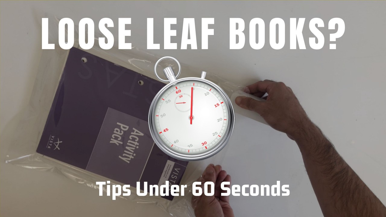 How to prepare loose leaf books Amazon FBA