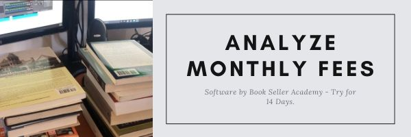 Analyze Monthly Fees - Software by Book Seller Academy