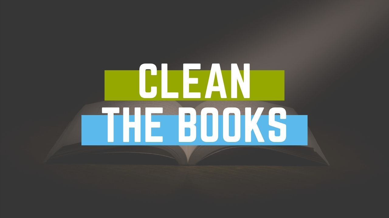 Cleaning Books, Process, Positive Reviews