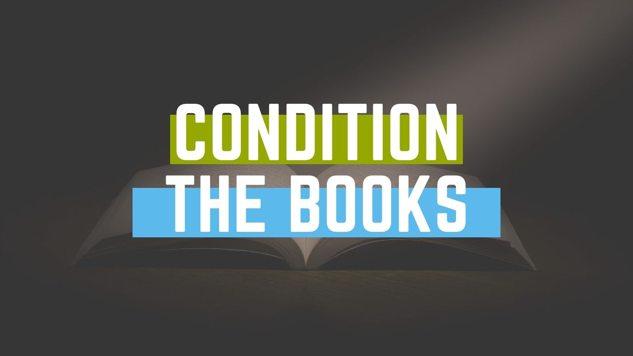 Grading or Condition your Books