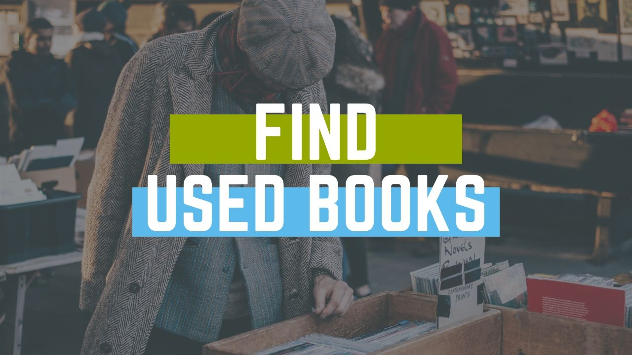 Find Books, Library and Bag Sales