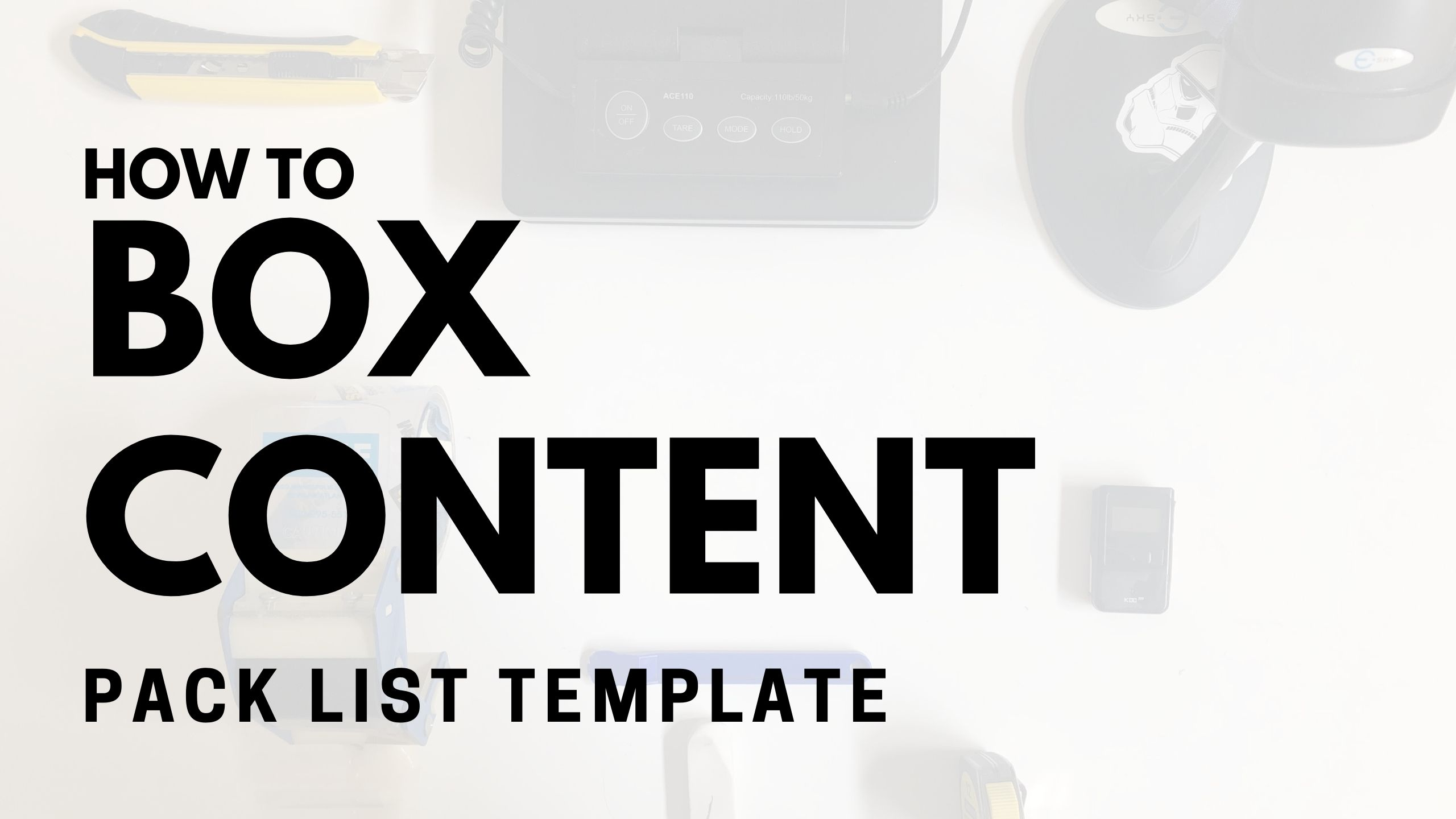 How to Provide Box Content for Amazon FBA
