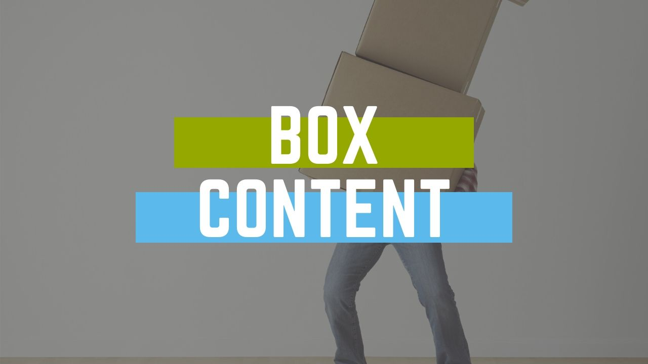 How to use box content for Amazon FBA