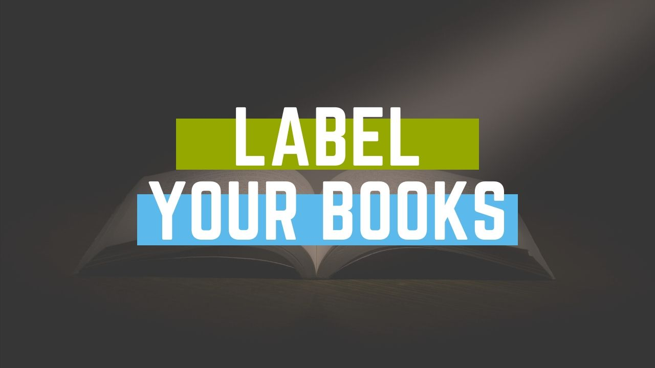 How to Label Your Books for Amazon FBA