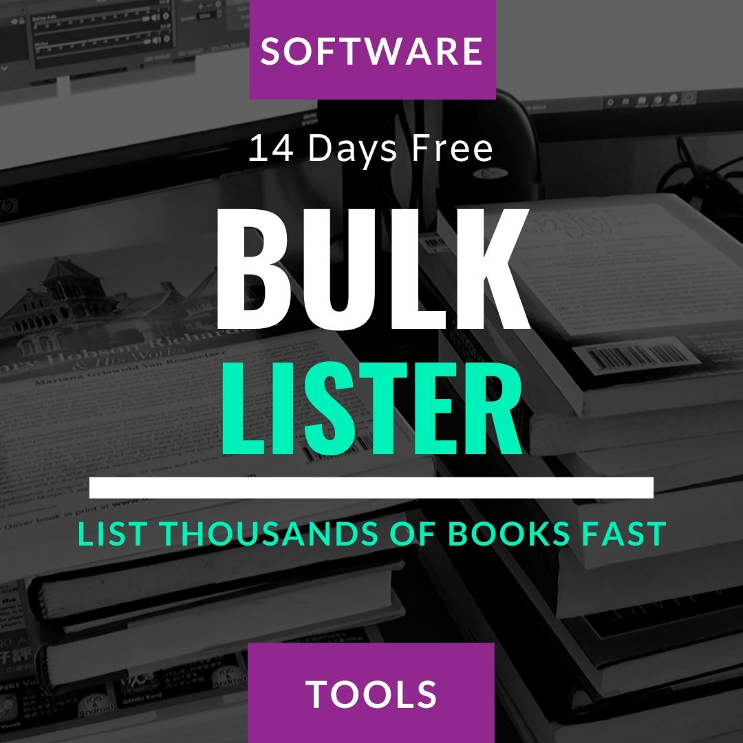 list books fast with software tools book seller academy