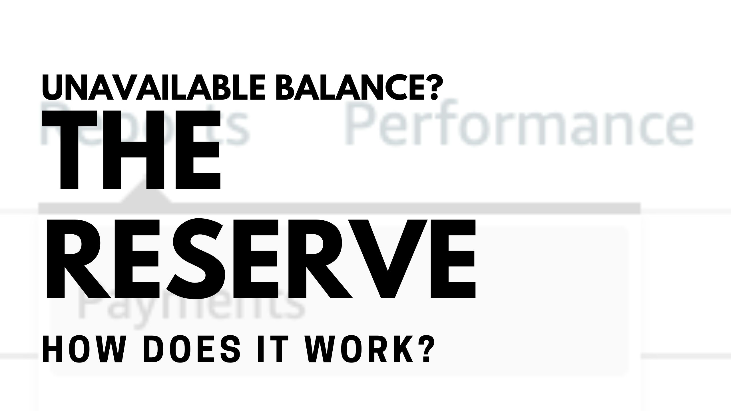 Understanding the Unavailable Balance Amazon Seller